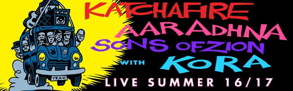 Katchafire, Aaradhna & Sons of Zion Summer Tour